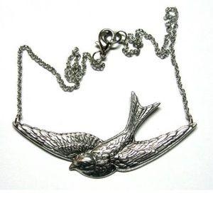 Silver Sparrow Necklace